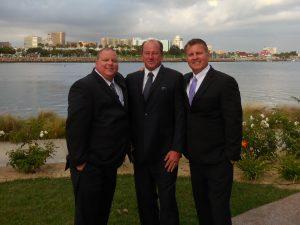 Chris Roth, Tom Kirk, and Brad Futak