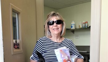 Gail brings gifts